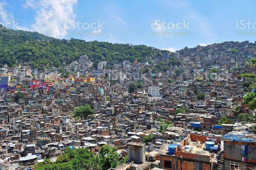 Favela Rocinha. royalty-free stock photo