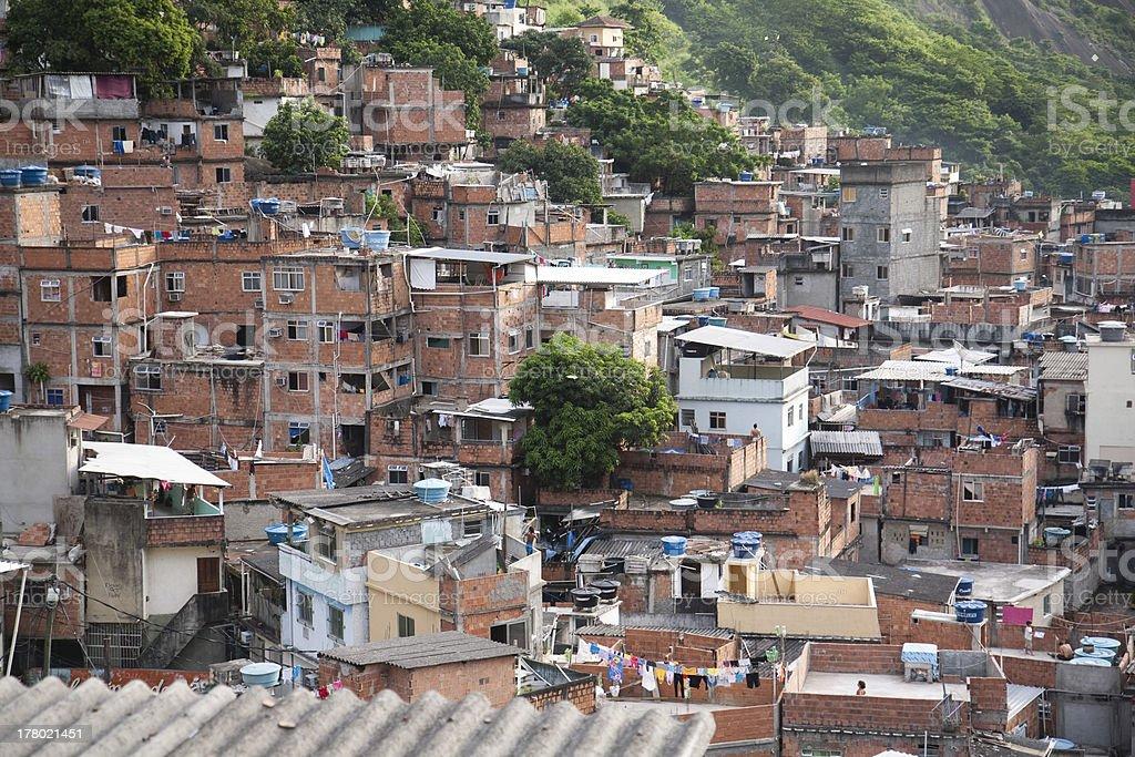 Rocinha royalty-free stock photo