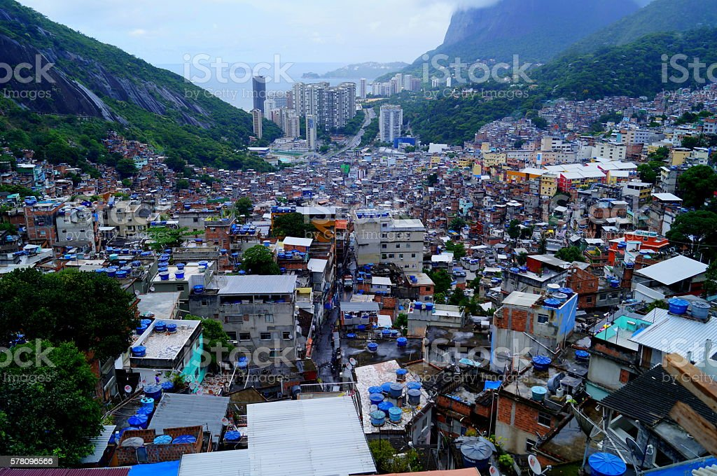 Rocinha stock photo