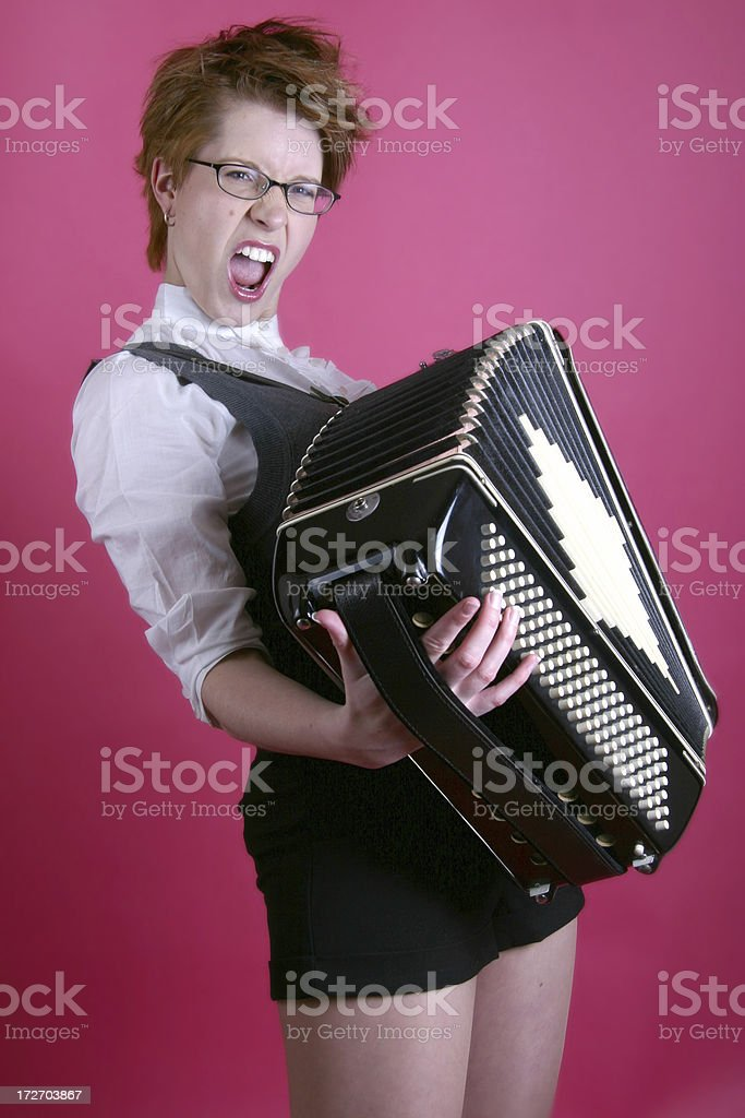 Rock Accordion royalty-free stock photo