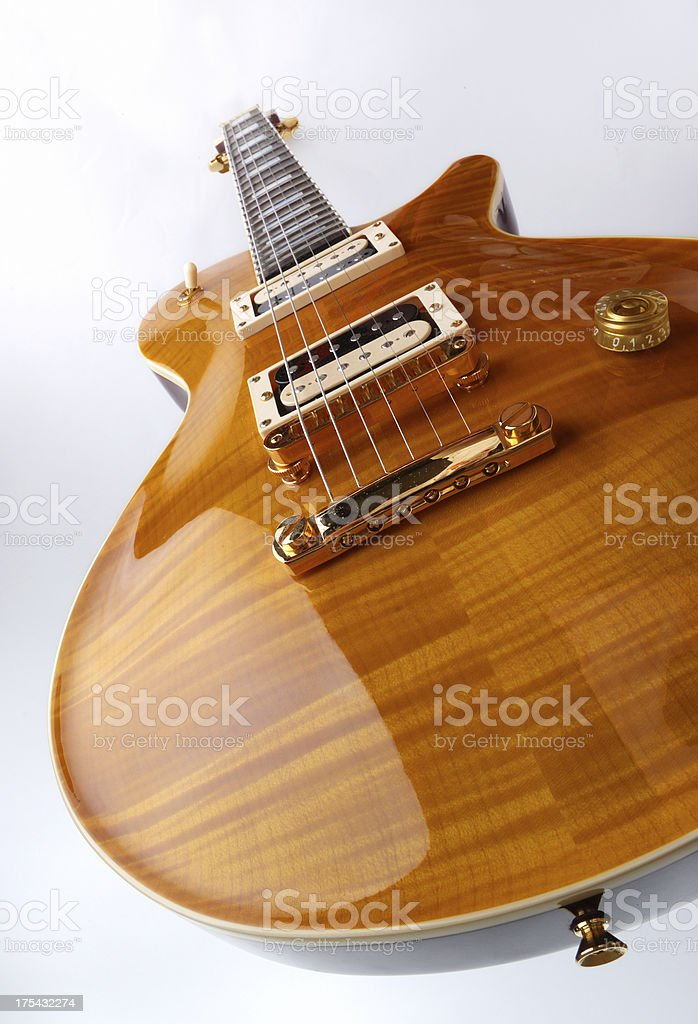 Rock & Roll Guitar royalty-free stock photo