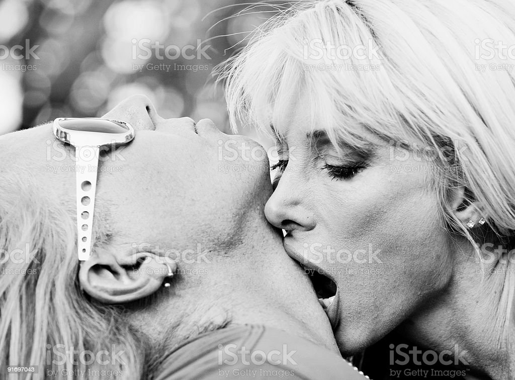 Rock and Roll Couple stock photo