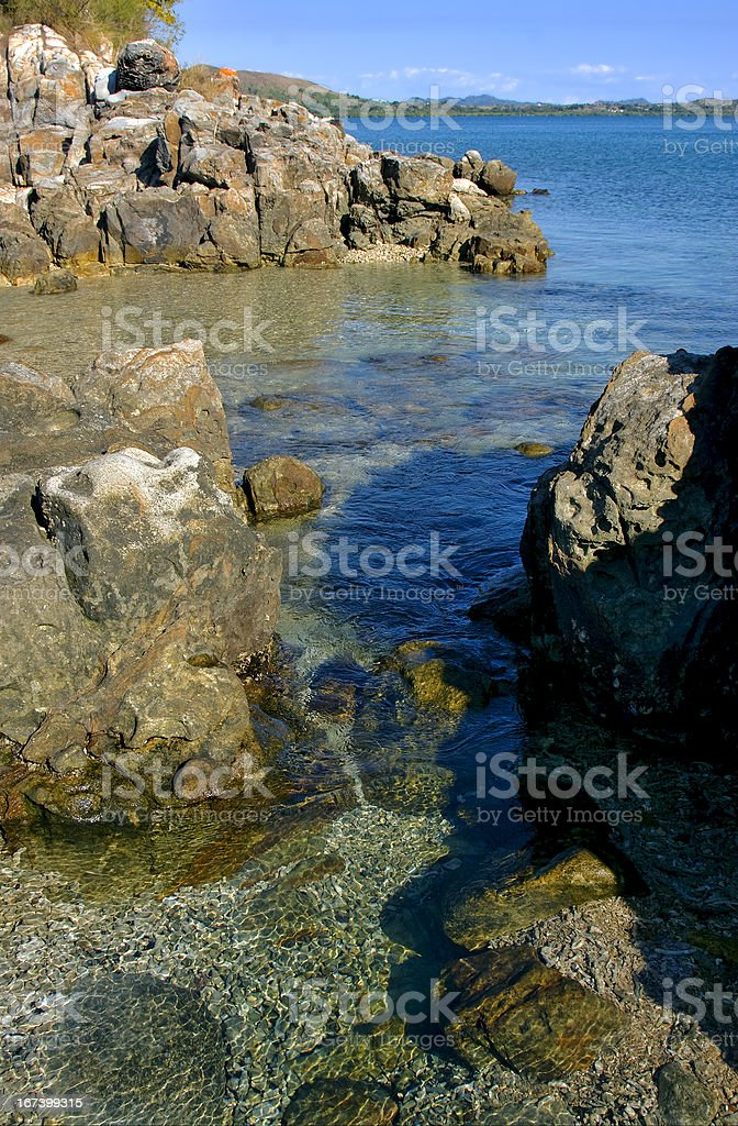 rock and stone royalty-free stock photo