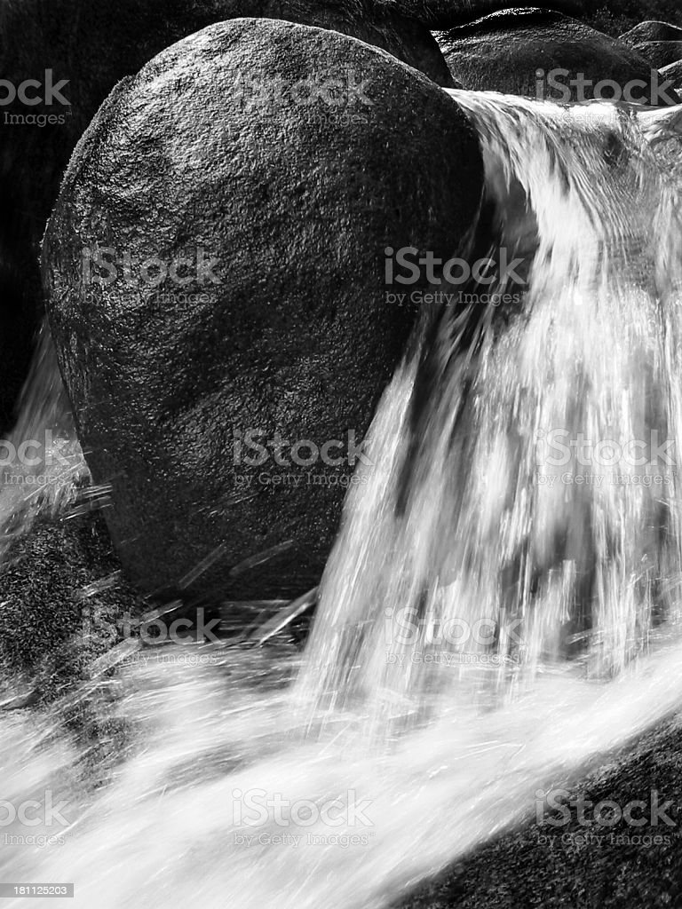 rock and stream stock photo