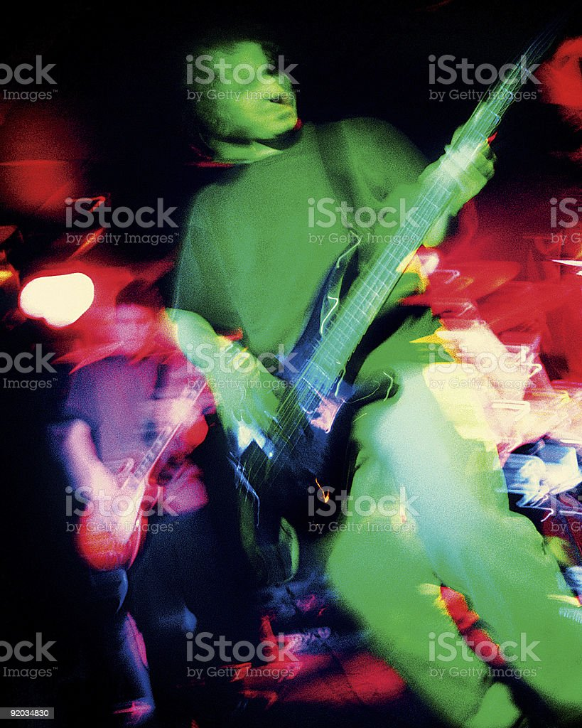 Rock band atmosphere royalty-free stock photo