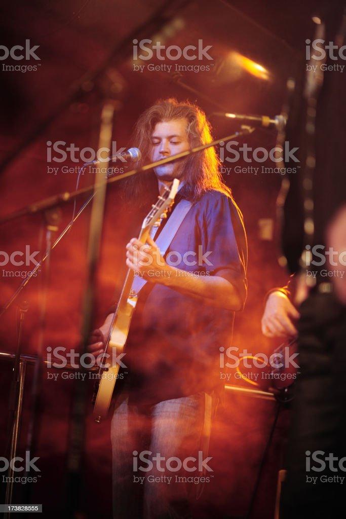 Rock band royalty-free stock photo
