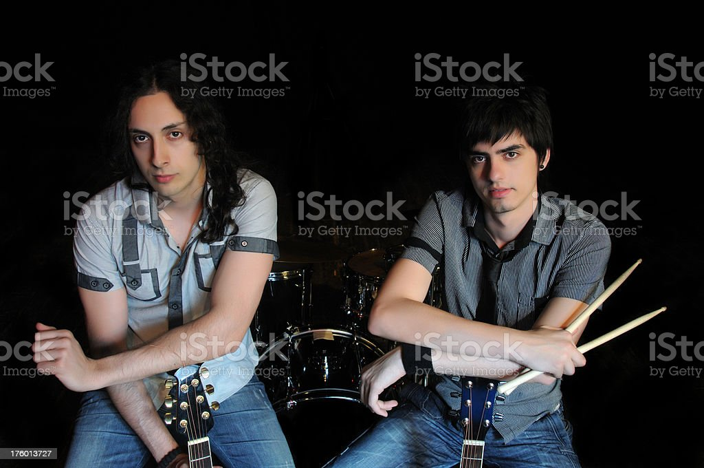 Rock Band royalty-free stock photo