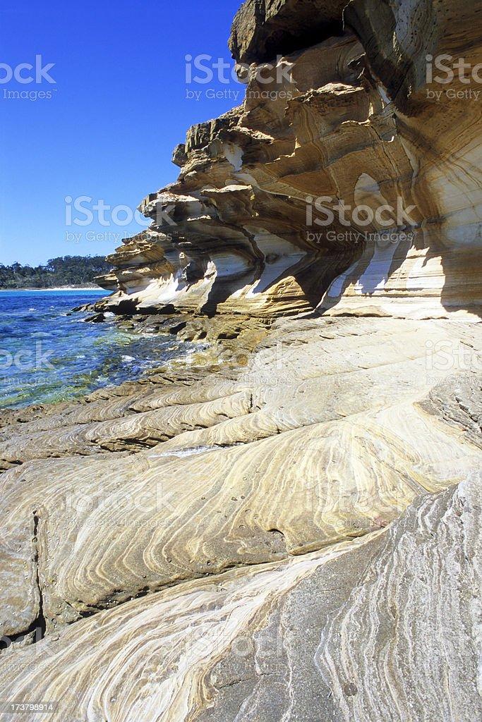 Rock Beach stock photo