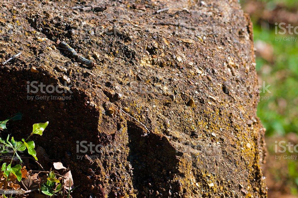 Rock bolder outdoors stock photo