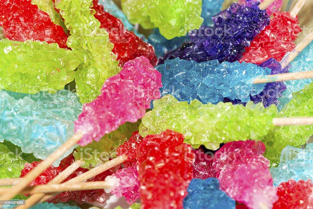 Rock Candy Closeup stock photo