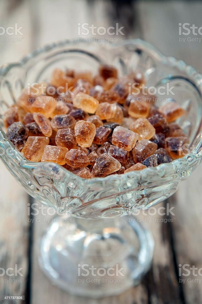 Rock cane sugar royalty-free stock photo