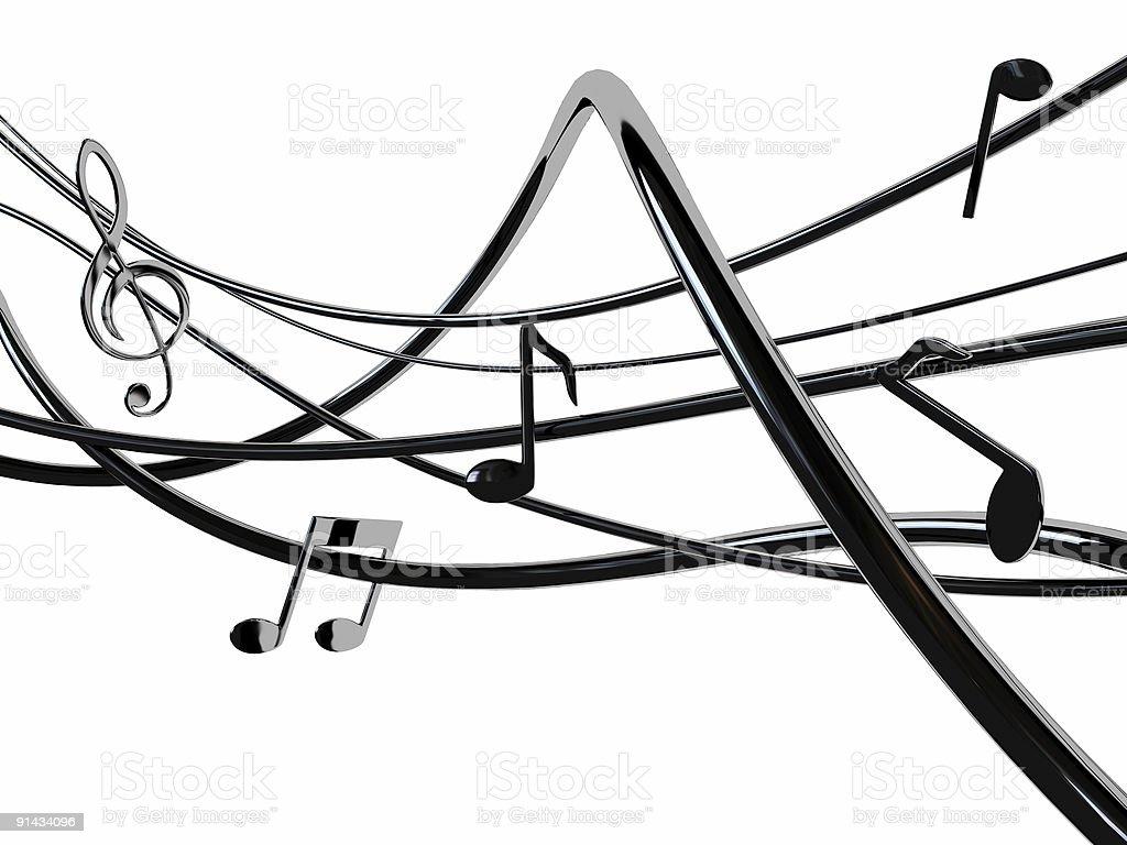 Rock chord stock photo