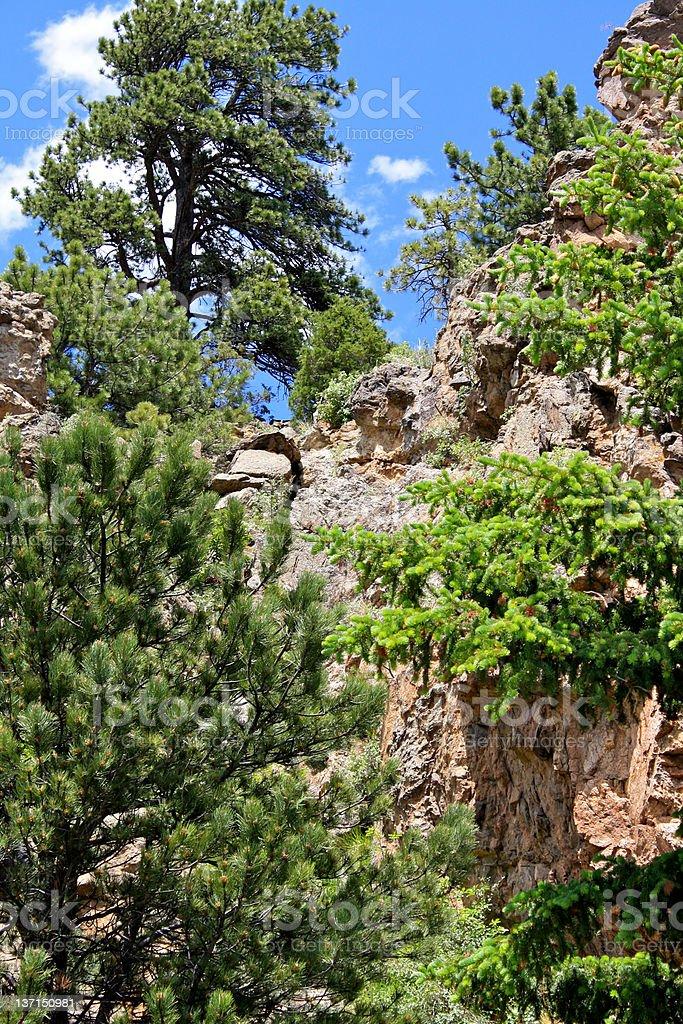 Rock Cliff stock photo