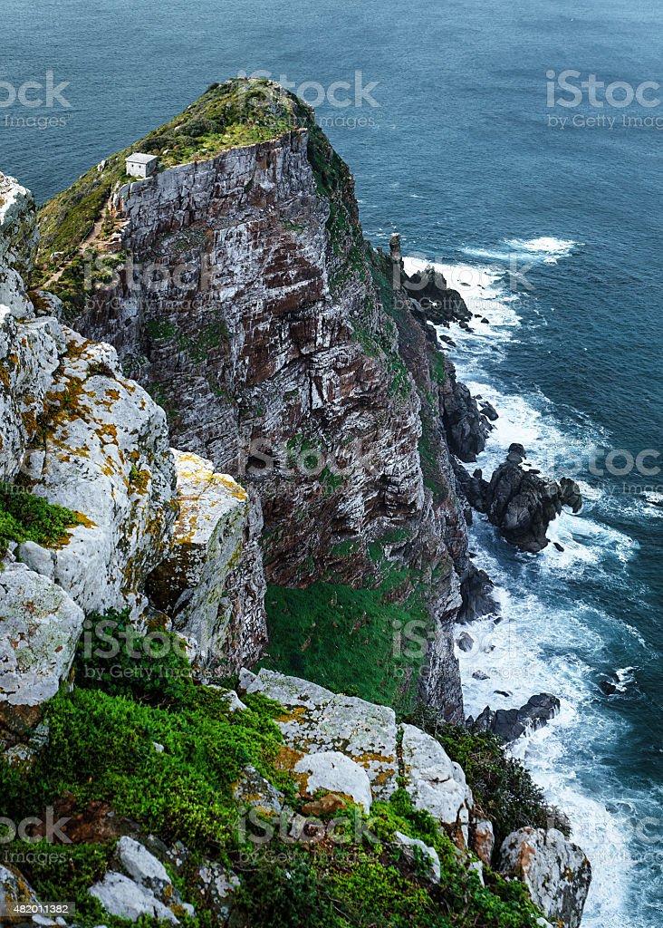 Rock cliff foto de stock libre de derechos