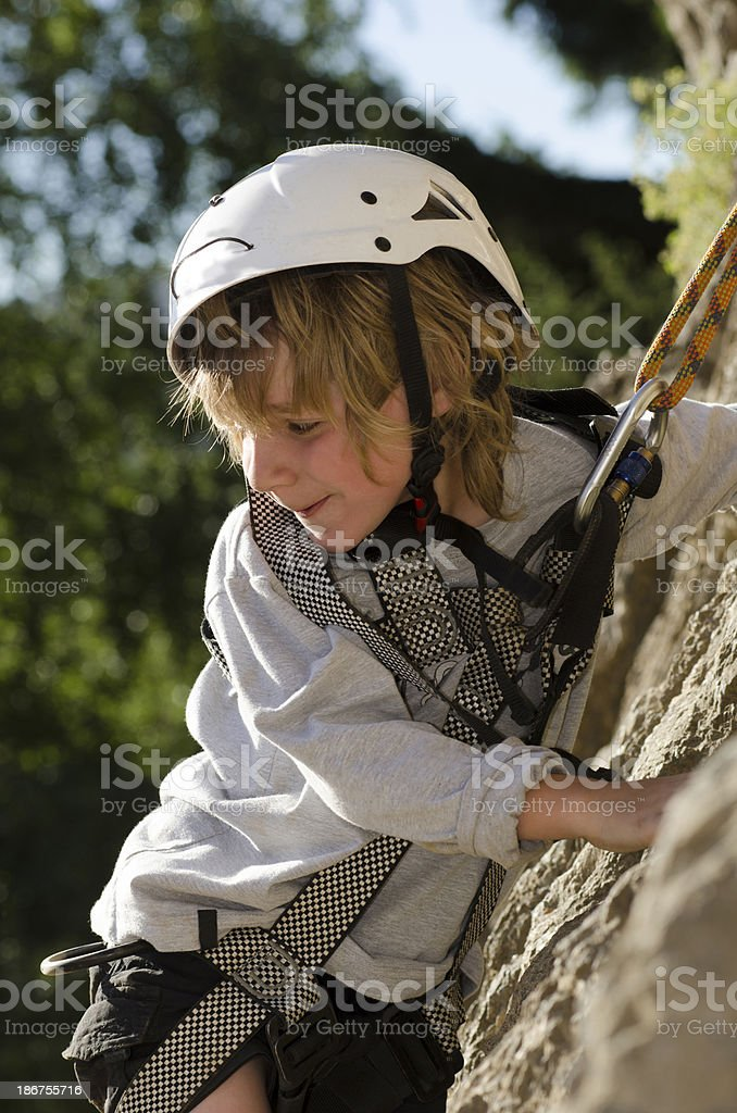Rock Climbing Patagonia stock photo