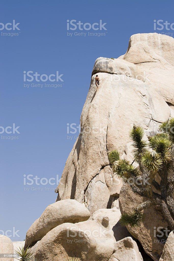 Rock Climbing stock photo