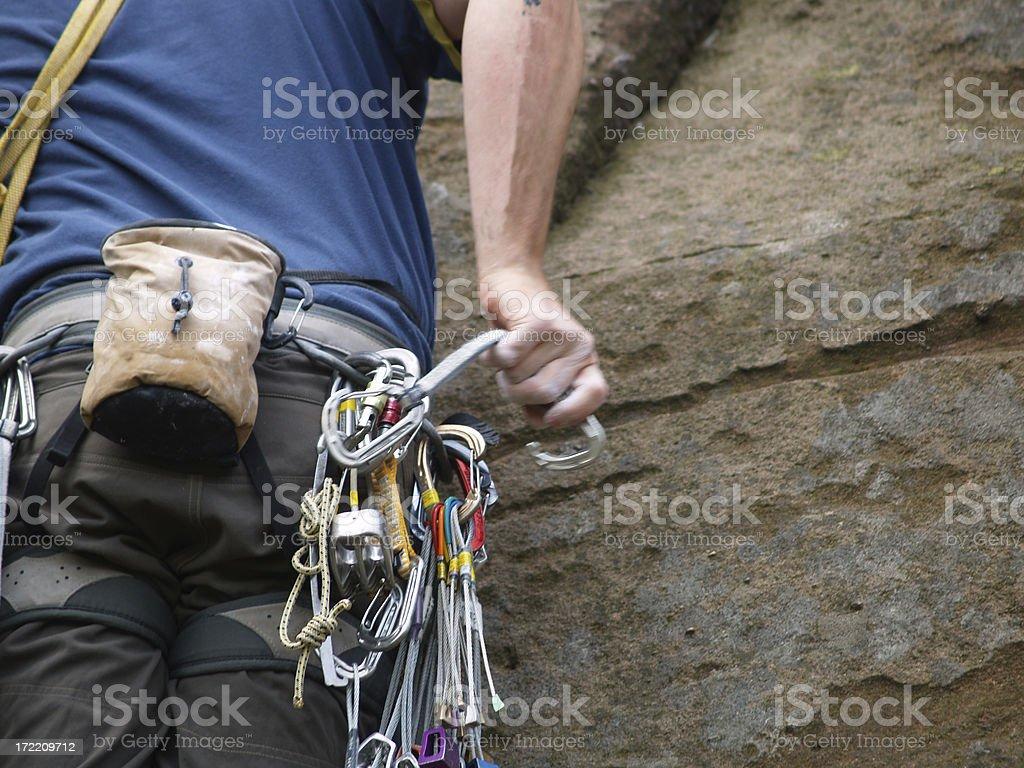 Rock Climbing\tclose up stock photo
