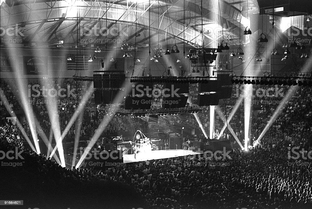 Rock Concert Arena royalty-free stock photo