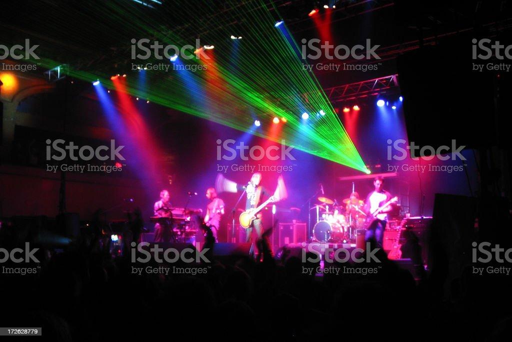 Rock Concert stock photo