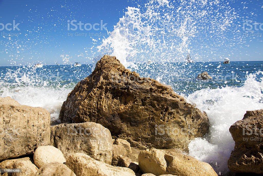Rock creek stock photo