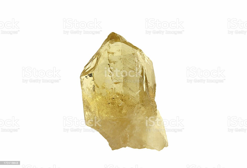 Rock crystal royalty-free stock photo