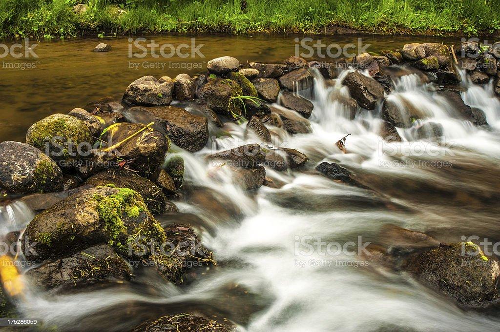 Rock Dam royalty-free stock photo
