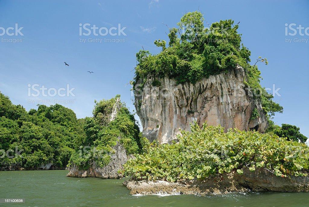rock Dominican Republic royalty-free stock photo