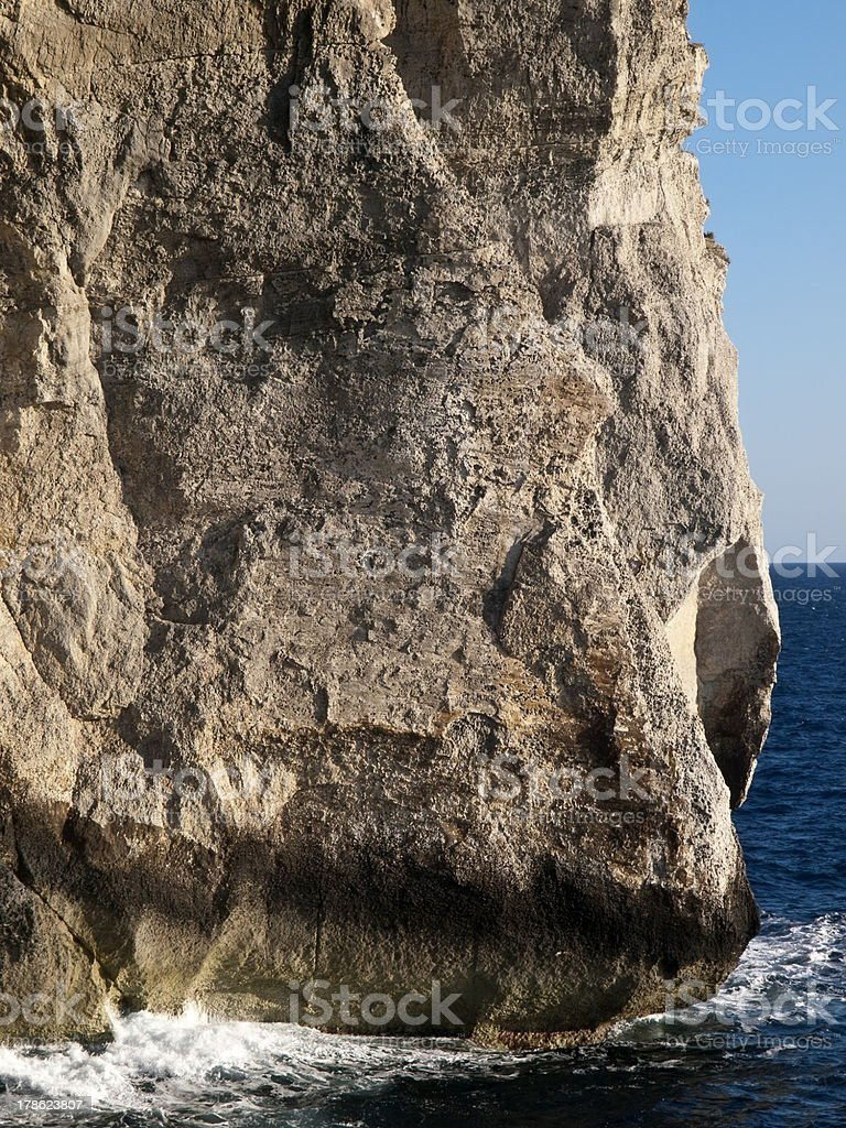 Rock Face Detail royalty-free stock photo
