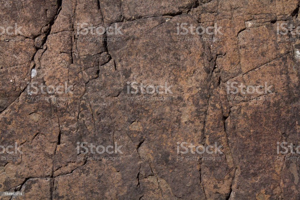 Rock Face stock photo