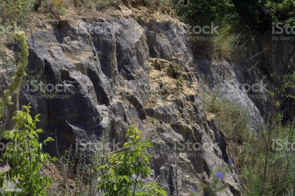 rock face royalty-free stock photo
