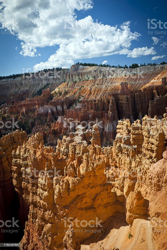 Rock Formation in Bryce Canyon Utah USA royalty-free stock photo