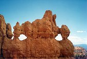 Rock formation in the Bryce Canyon, Utah USA