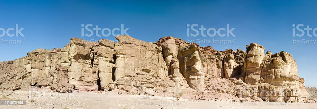 Rock Formation panorama stock photo