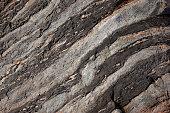 Rock formations along Maine Coast, USA