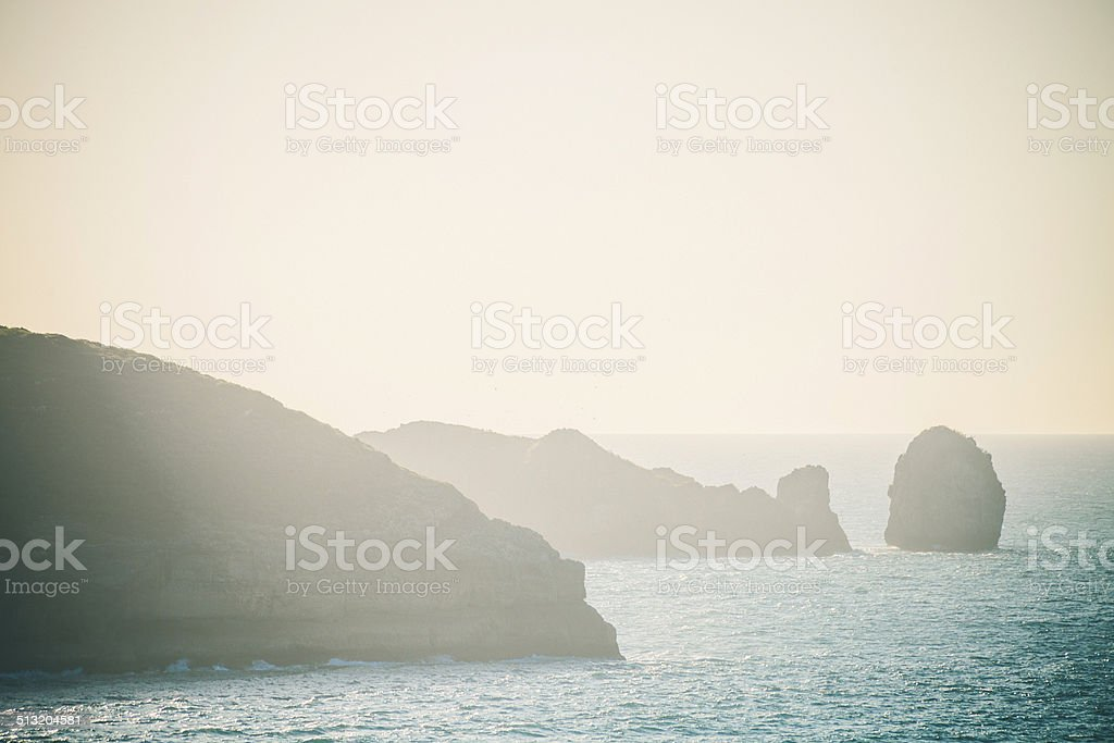 Rock formations. stock photo