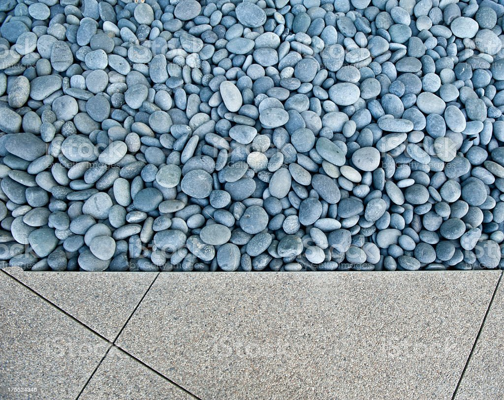 Rock Garden stock photo
