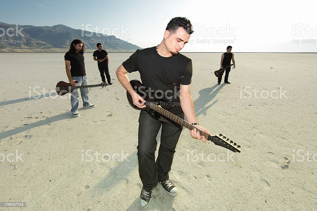 Rock Group stock photo