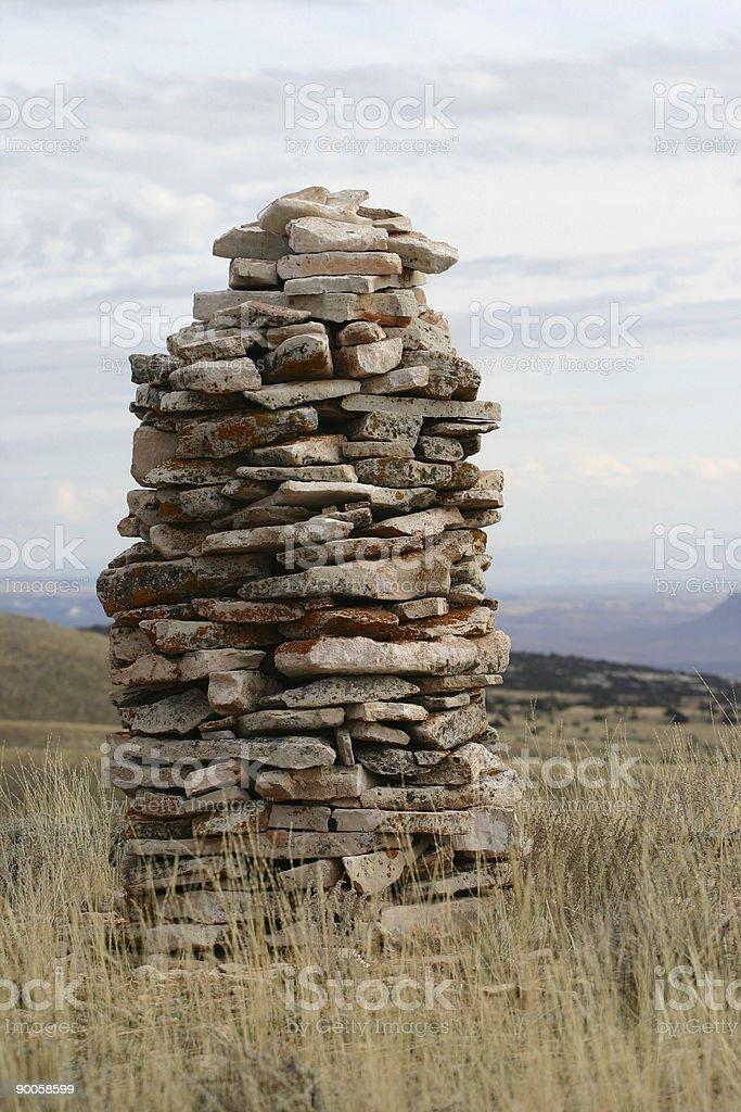 Rock Guidance royalty-free stock photo