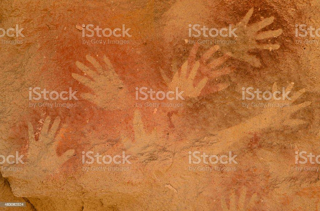Rock Hands stock photo