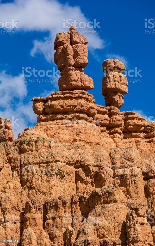 Rock Hoodoo stock photo