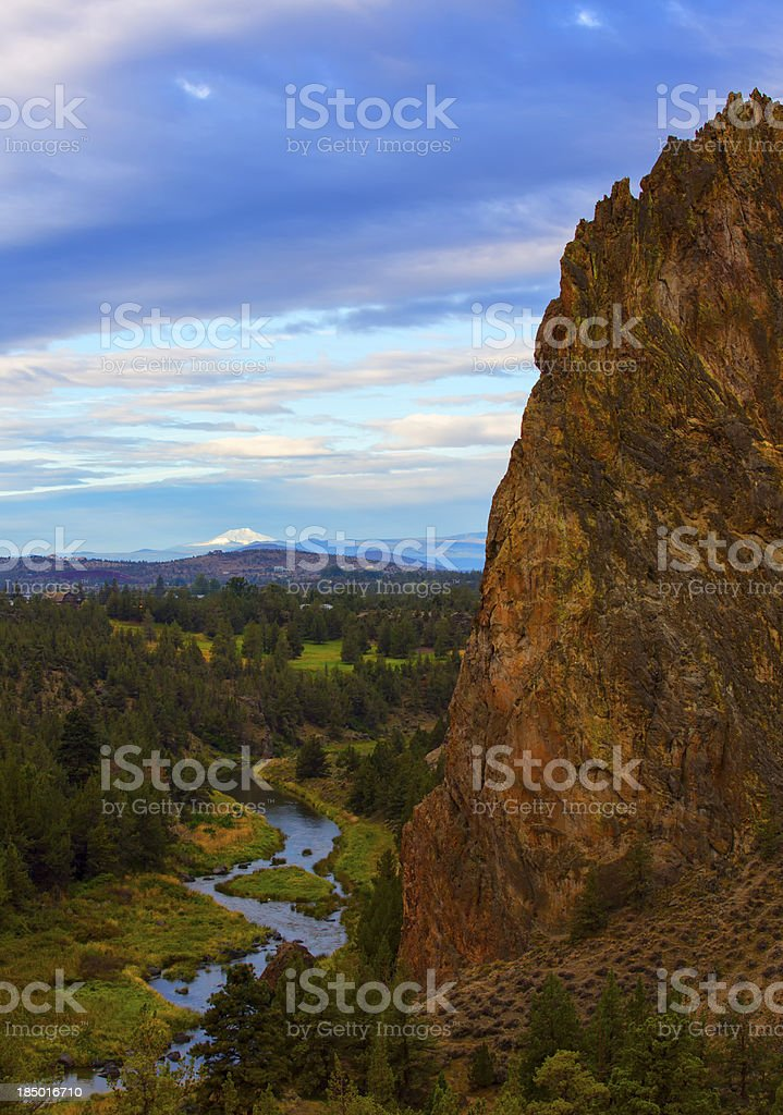 Rock in the Morning stock photo