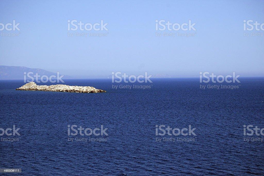 Rock Island royalty-free stock photo