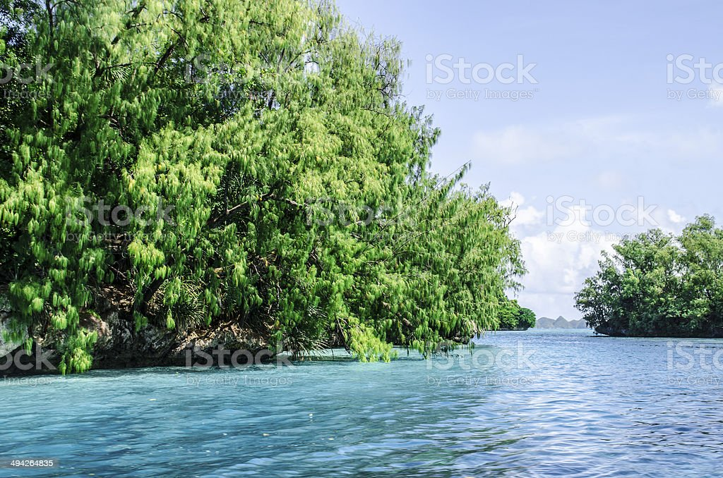 Rock Islands stock photo