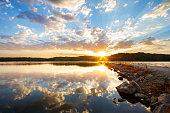 Rock Jetty Sunrise