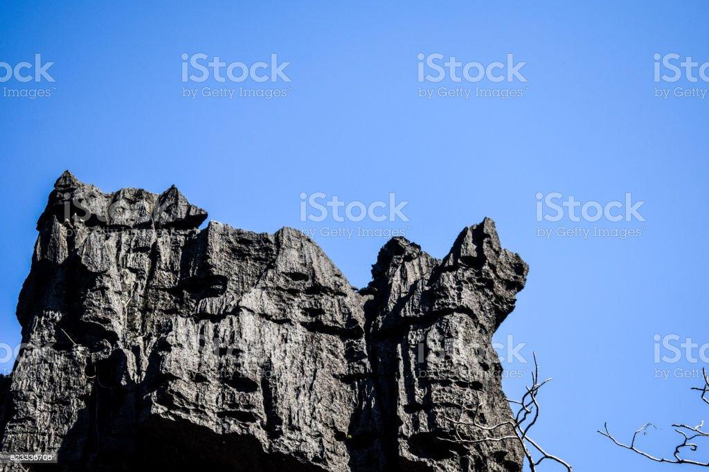 Rock Karst Summit 4 stock photo