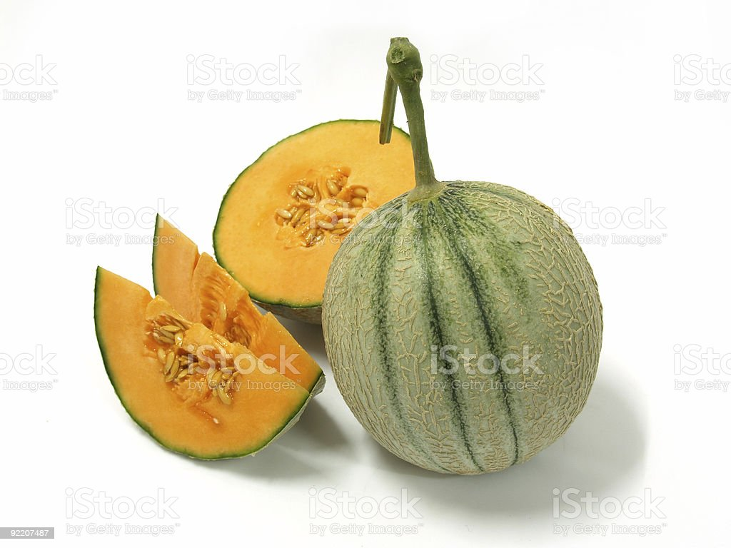 Rock Melons royalty-free stock photo