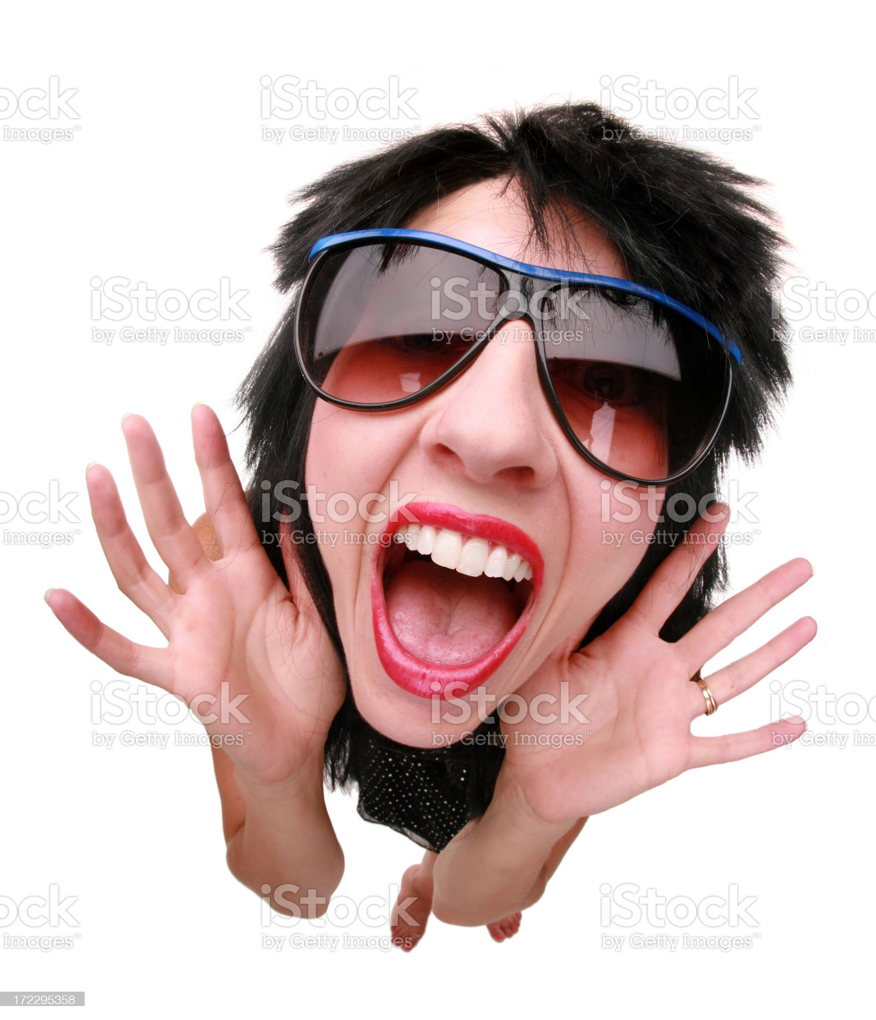 Rock N Roll royalty-free stock photo