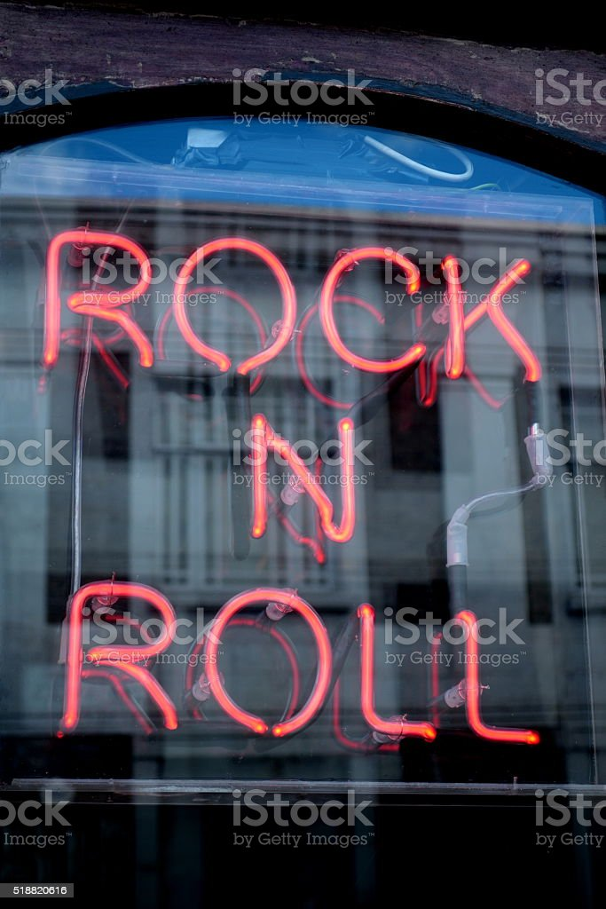 Rock 'n' roll stock photo