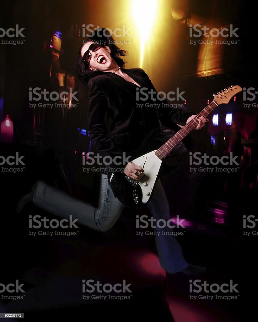 Rock 'n' Roll royalty-free stock photo