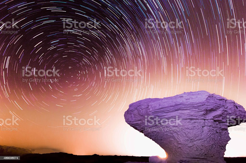 rock night stock photo